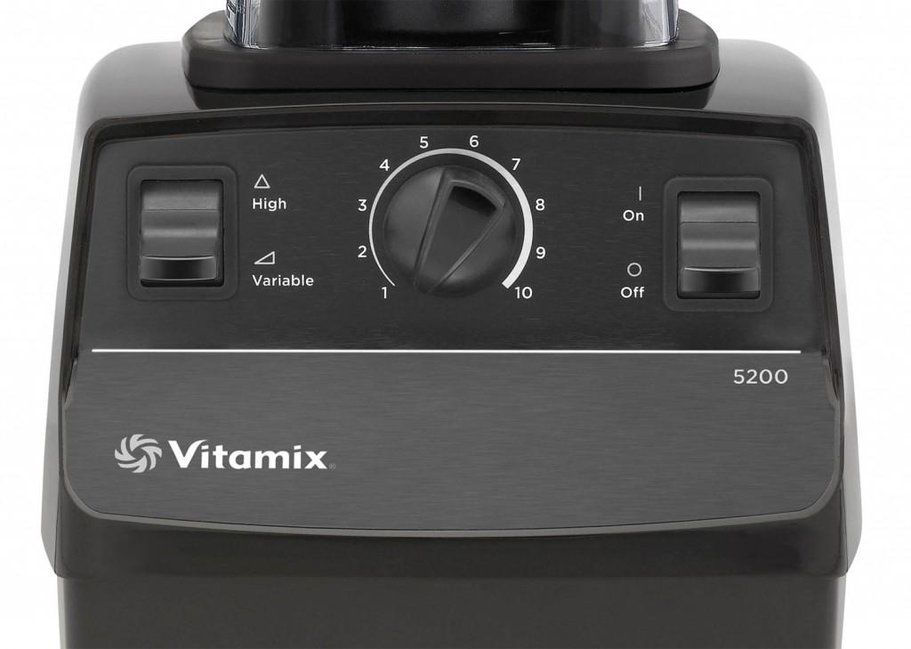 Bedienpanel des Vitamix TNC 5200 | Vitamix Modell-Vergleich
