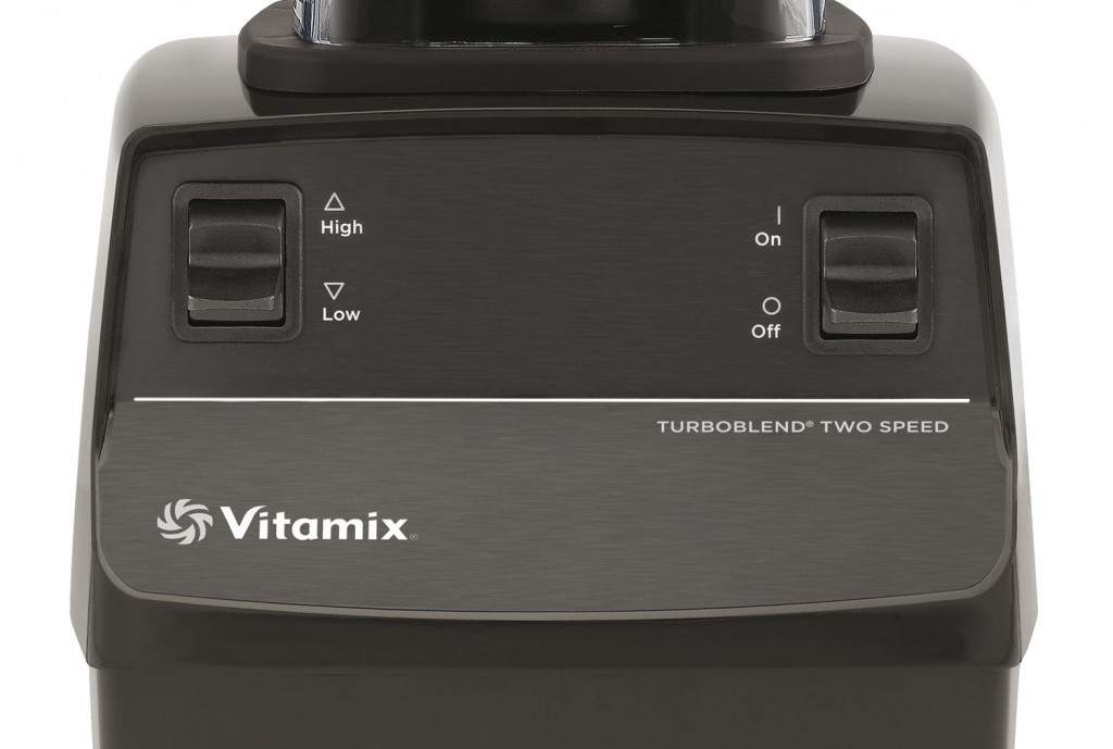 Bedienpanel des Vitamix Turboblend Two Speed | Vitamix Modell-Vergleich