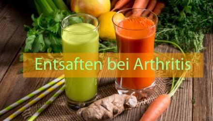 Entsaften / Saftpressen bei Arthritis
