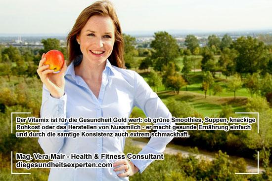 Health & Fitness Consultant Vera Mair - Vitamix