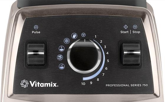Bedienpanel Vitamix Pro 750