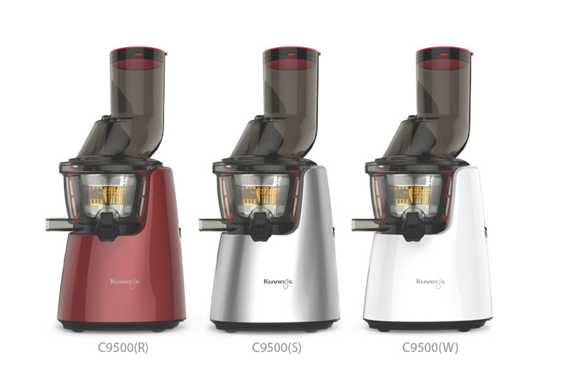 Kuvings Whole Slow Juicer C9500 Farbpalette