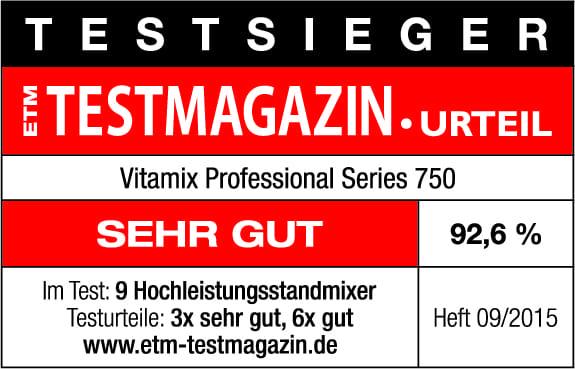 Vitamix Pro 750 Testsieger