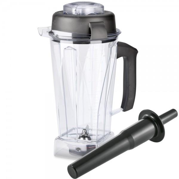 Vitamix Tritan Behälter (2 l) mit Nass-Schneidemesser (BPA-frei)
