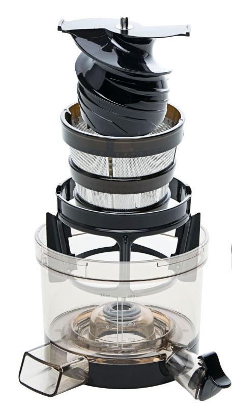 Test SANA Juicer EUJ-808 by Omega - Pressschnecke
