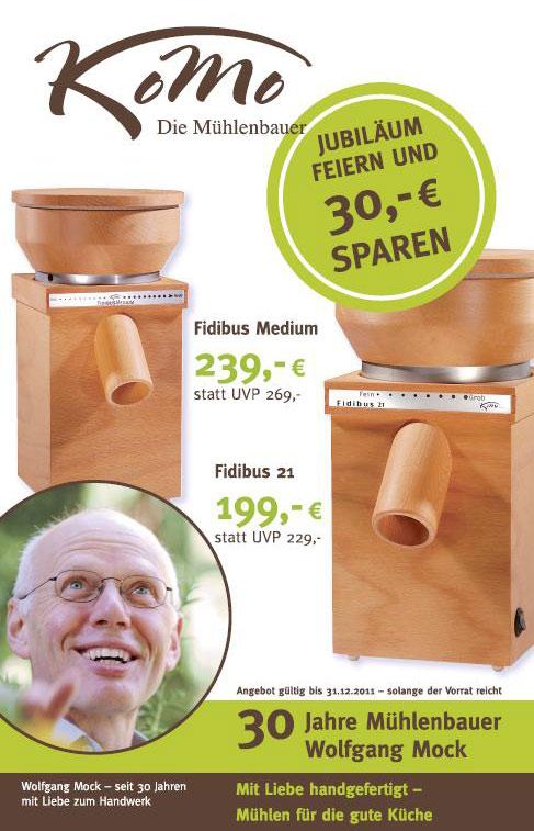 Komo Getreidemühlen - 30 Jahre Mühlenbauer Wolfgang Mock