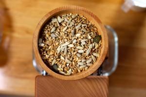 Neben sortenreinen Getreidekörnern können auch verschiedene Getreidearten mit der hawos Molere gemischt und verarbeitet werden