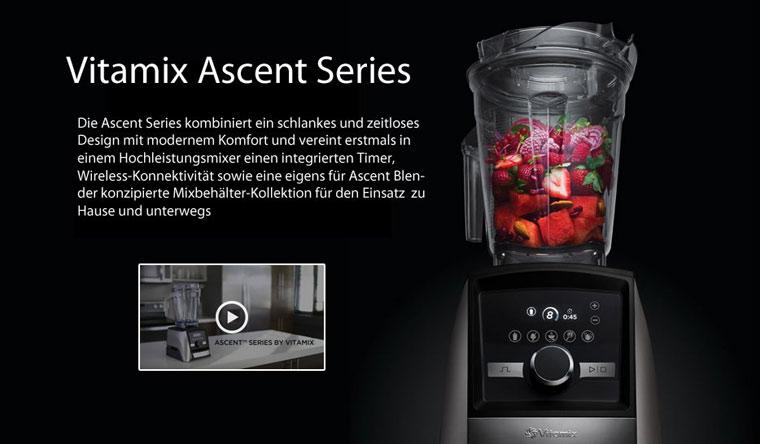 Vitamix Ascent Series - Vitamix Modelle im Vergleich und Test