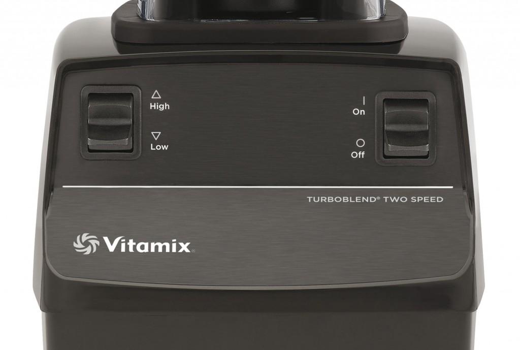 Bedienpanel des Vitamix Turboblend Two Speed | Vitamix Modell-Vergleich
