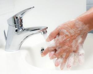 Hände waschen. Schutz vor Neuer Schweine Grippe HN1