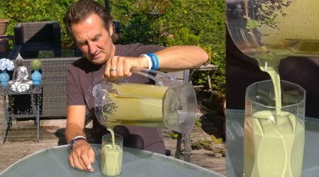 Mixdauer von grünen Smoothies entscheidet über den Vitalstoffgehalt