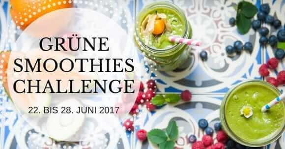 Grüne Smoothies Challenge 22.-28.06.2017
