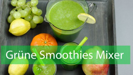 Grüne Smoothies Mixer