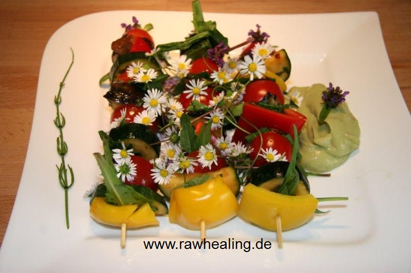 now its grill time - rawhealing - Rohkost Rezepte
