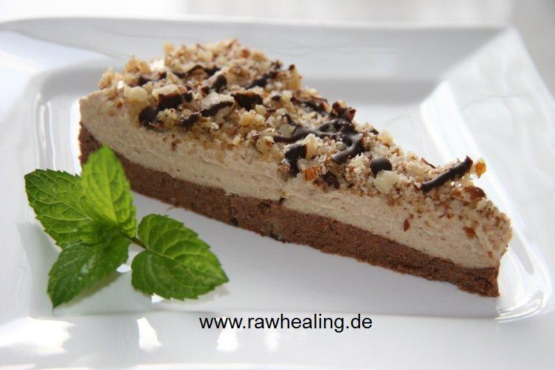 Schoko-Karamell-Torte - rawhealing - Gourmet Rohkost Rezepte