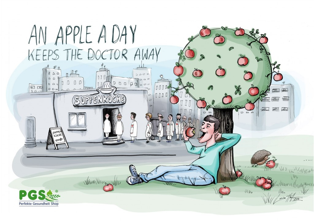 An apple a day - Suppenküche