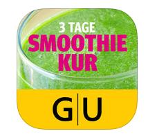 grüne Smoothies Apps - GU Verlag Smoothie-Kur