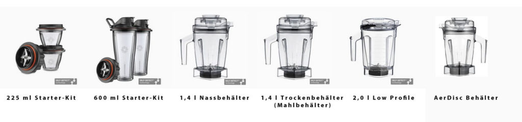 Vitamix Ascent Series - Smart Behälter