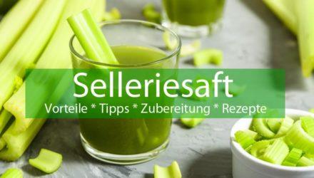 Selleriesaft - Vorteile, Tipps, Zubereitung & Rezepte