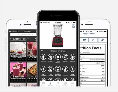 Vitamix Ascent Smartphone App