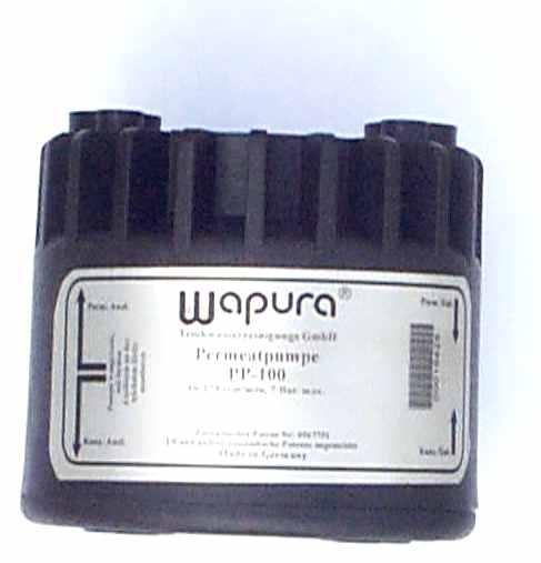 Wapura Permeatpumpe für Umkehrosmose-Anlagen mit Drucktank 4