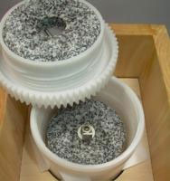 Mahlkammer aus lebensmittelechtem Kunststoff / Schnitzer Pico Getreidemühle