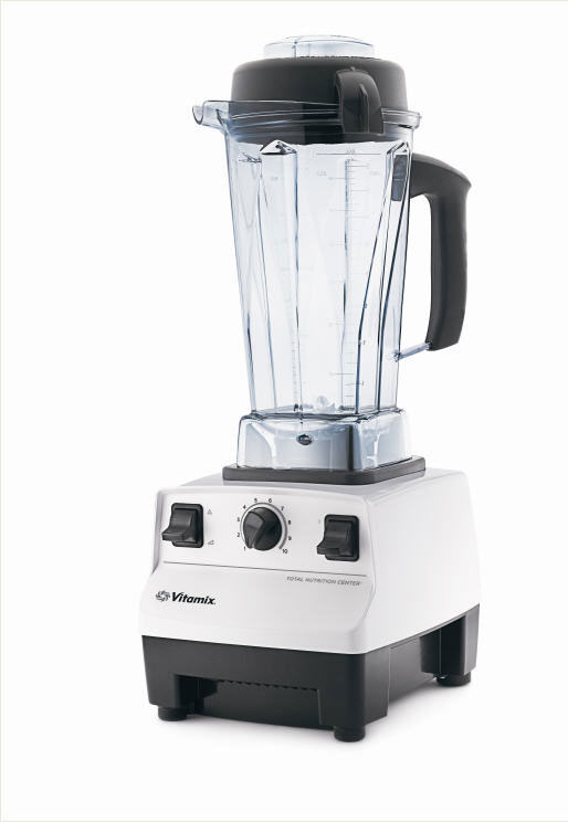 Vitamix Super-TNC 5200 - the Profi-Mixer in white colour