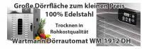 Wartmann Dörrautomat WM-1912 DH