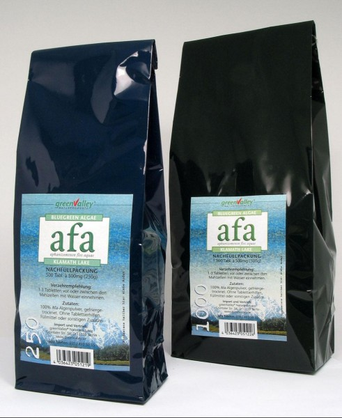 Afa-Alge 1000 Tabletten á 500mg (500g) Nachfüllpack