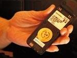 DER GOLDENE PUNKT© Chip groß, einzeln, Durchmesser 40 mm