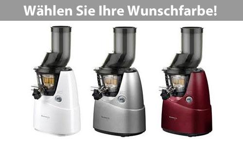 Kuvings Whole Slow Juicer B6000 - erhältlich in drei Farben