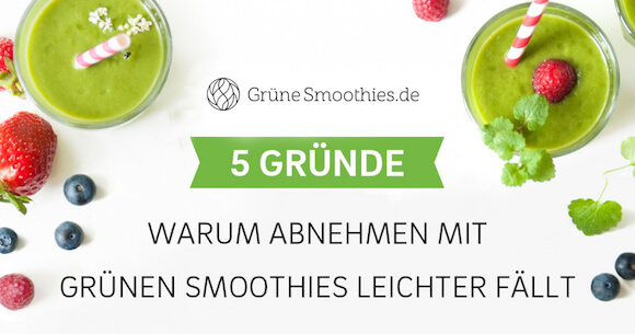 abnehmen-ohne-diaet-mit-gruenen-smoothies