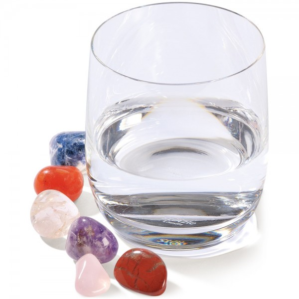 Edelsteine-Set - für Ihr Trinkwasser