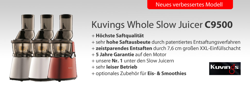 Kuvings Whole Slow Juicer B6000 - Kundenmeinungen, videos & Test