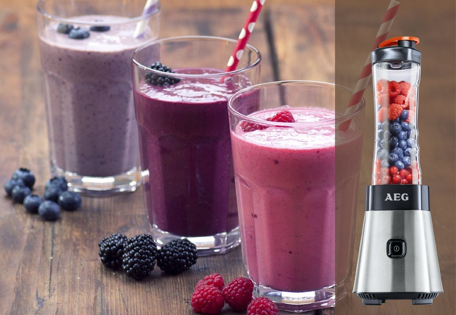 AEG PerfectMix SB 2400 Mini Blender Smoothies