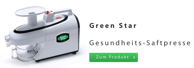 Green Star Saftpresse Entsafter