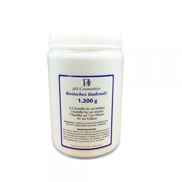 ph Cosmetics Basisches Badesalz (Dose groß 2400 g)