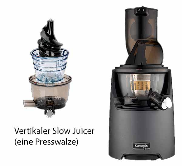 Vertikaler Slow Juicer