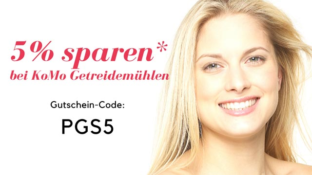 KoMo Gutschein Rabatt Code - 5% sparen mit PGS5