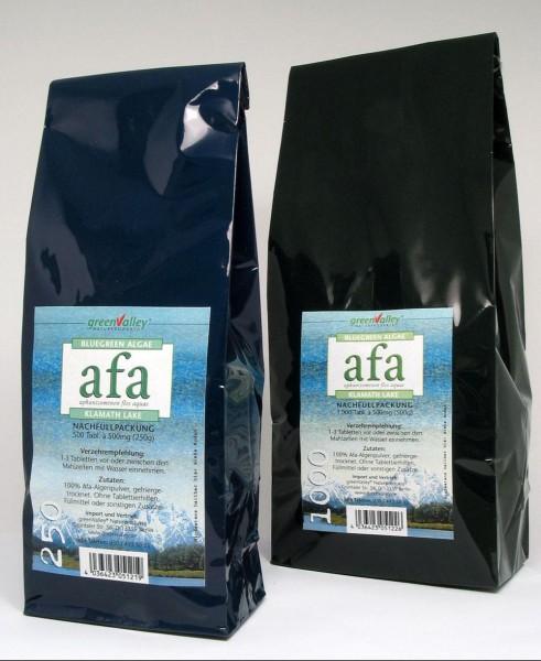 green Valley Afa-Algen 500 Tabletten á 500mg (250g) Nachfüllpack