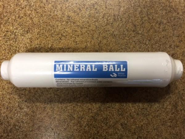 Umkehrosmose - Mineralisierungskartusche Nachrüst-Set (inkl. Clips sowie Verschraubungen)