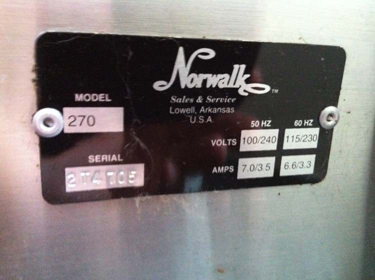 norwalk-juicer-entsafter-typenschild