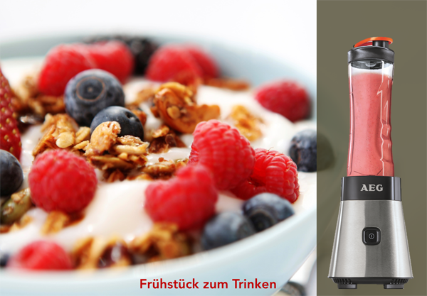 AEG PerfectMix SB 2400 Mini Blender Smoothies Müsli