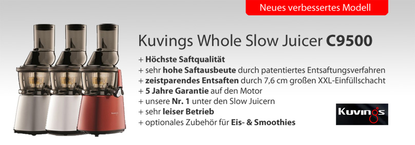 Kuvings Whole Slow Juicer C9500