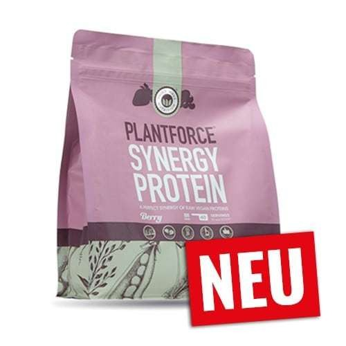 Plantforce Synergy Berry Rohkost Proteinpulver