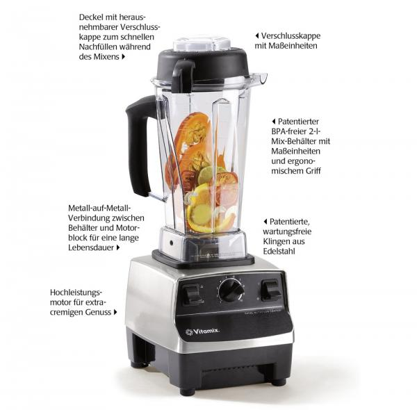Vitamix TNC 5200 Features