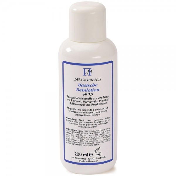 pH Cosmetics Basische Beinlotion pH 7,5 - 200 ml