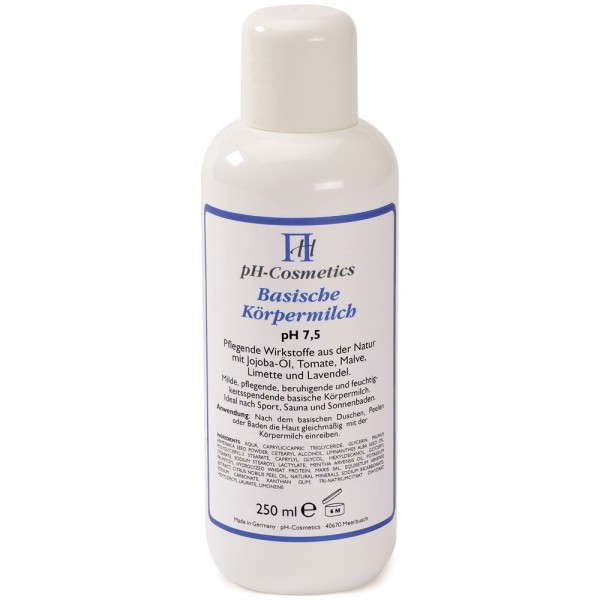 pH Cosmetics Basische Körpermilch pH 7,5 500 ml