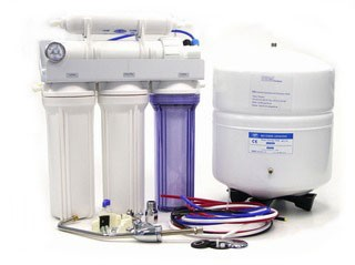 Umkehrosmose - 5-Stufen-Profi-Umkehrosmoseanlage 380 Liter Tagesleistung