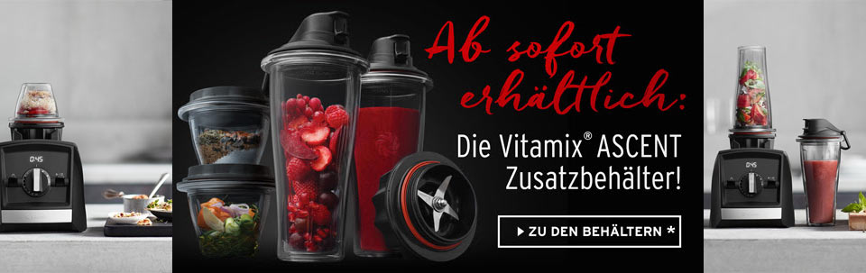 Vitamix Ascent Series Container 225 ml und 600 ml